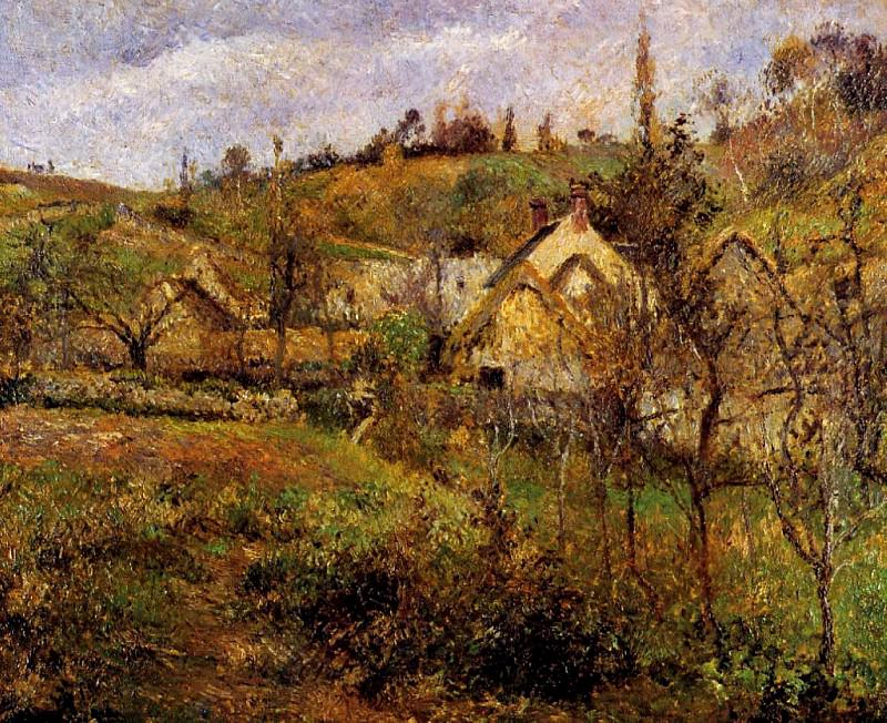 Валермейль, недалеко от Понтуаза. (1880). Камиль Писсарро