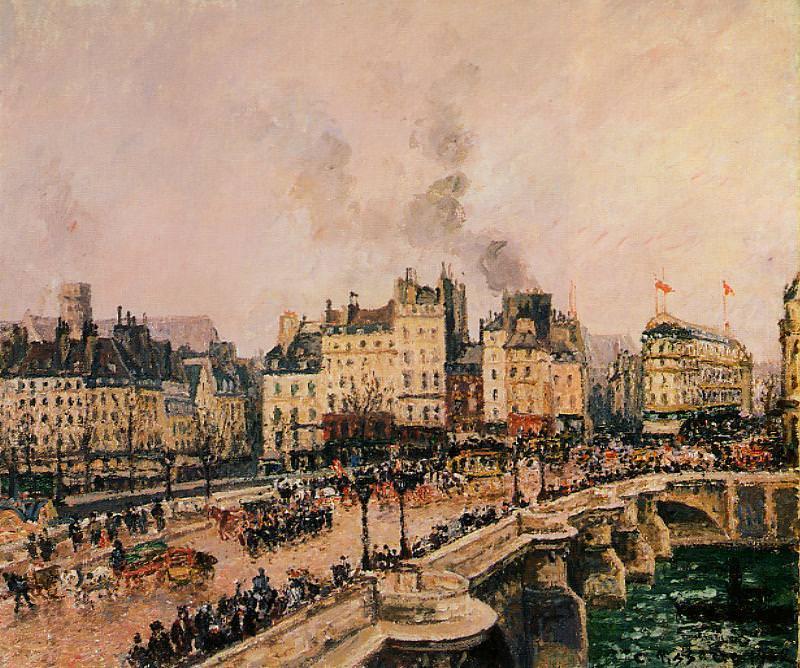Мост Пон-Нёф 1902. Камиль Писсарро