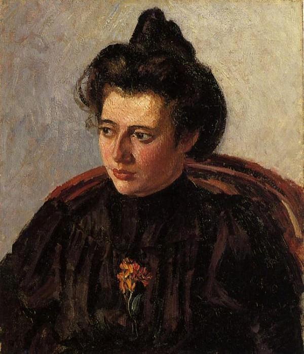 Portrait of Jeanne. (1898). Camille Pissarro
