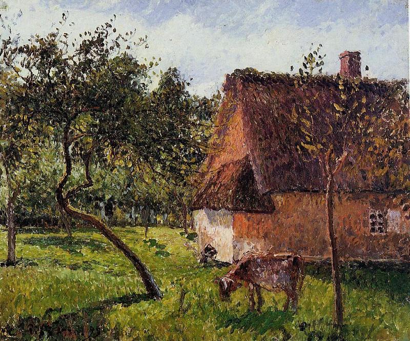 A Field in Varengeville. (1899). Camille Pissarro