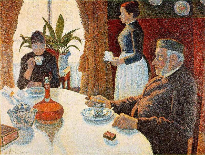 signac.dining. Camille Pissarro