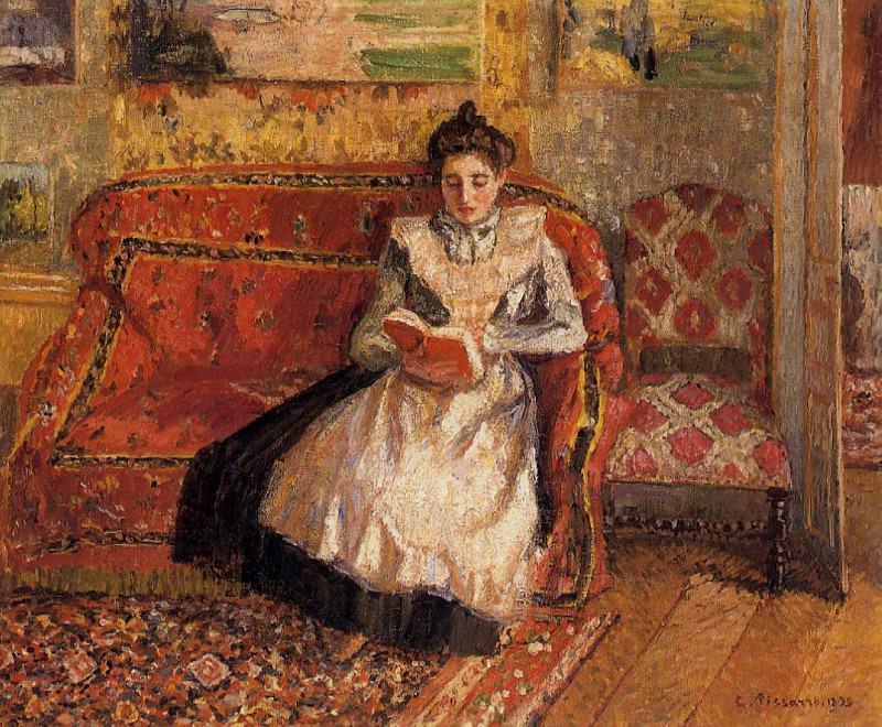 Jeanne Reading. (1899). Camille Pissarro