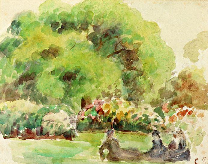 Cagnes Landscape. Camille Pissarro