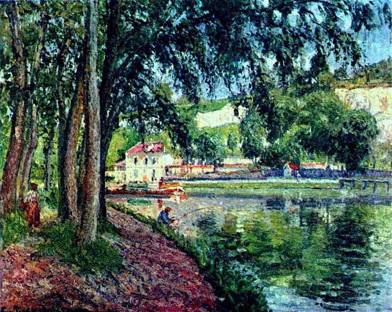 Summer Fishing. Camille Pissarro