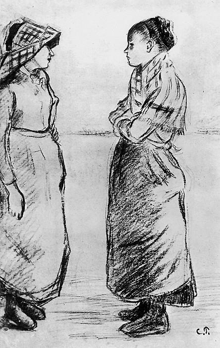 Study for the cat. Camille Pissarro