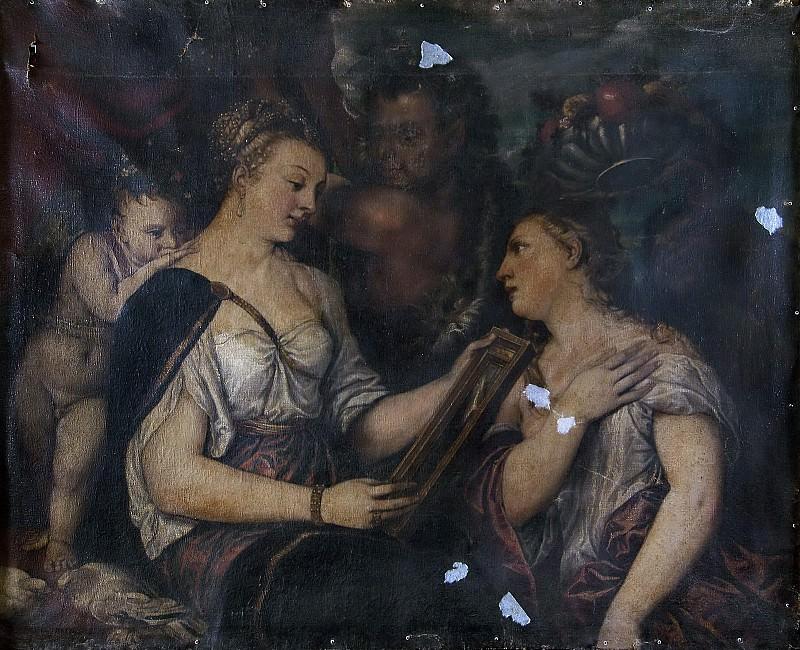 Venus with a Mirror. Padovanino (Alessandro Varotari) (After)