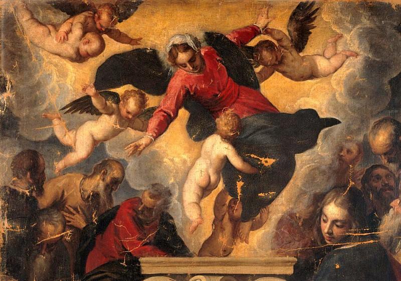 The Assumption of the Virgin Mary (Assunzione della Vergine). Palma il Giovane (Jacopo Negretti)
