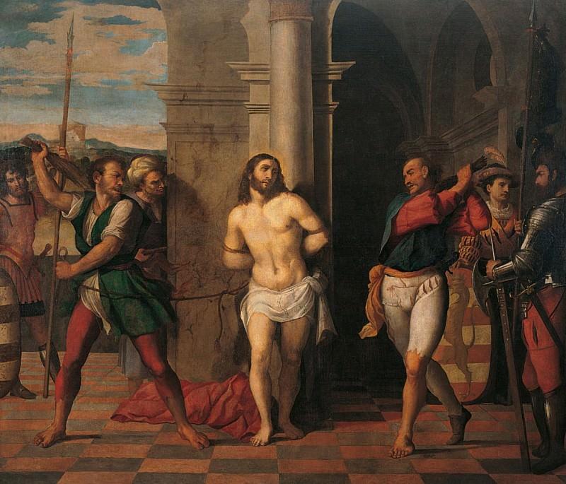 Flagellation of Christ (Flagellazione di Cristo). Palma il Giovane (Jacopo Negretti)