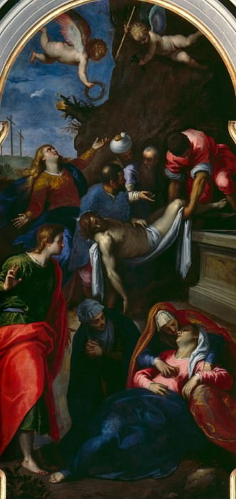 The Deposition of Christ. Palma il Giovane (Jacopo Negretti)