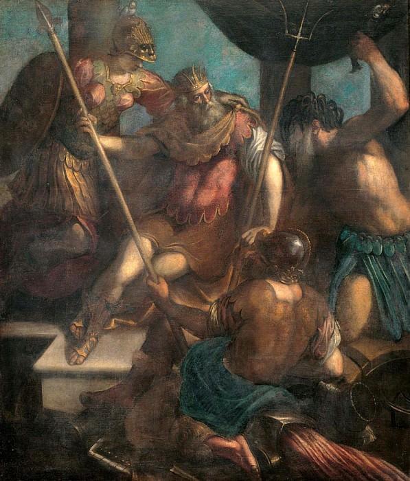Triumph of Neptune (Trionfo di Nettuno). Palma il Giovane (Jacopo Negretti)