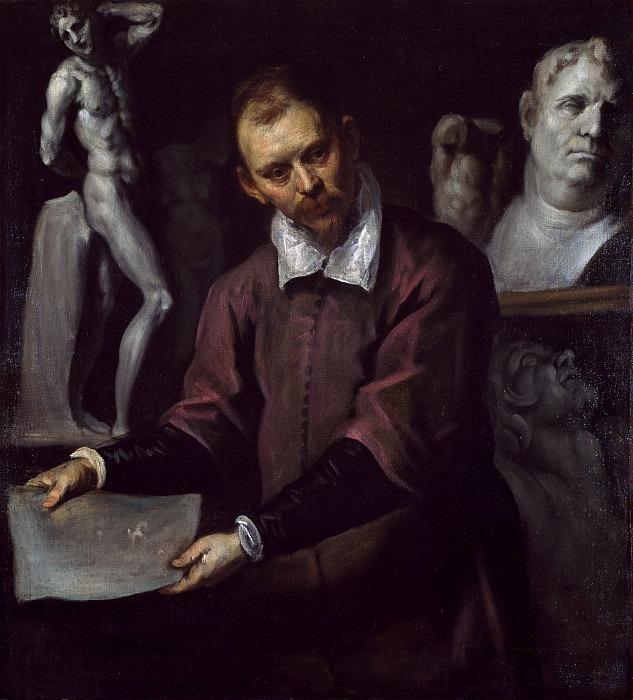 Portrait of a Man. Palma il Giovane (Jacopo Negretti)