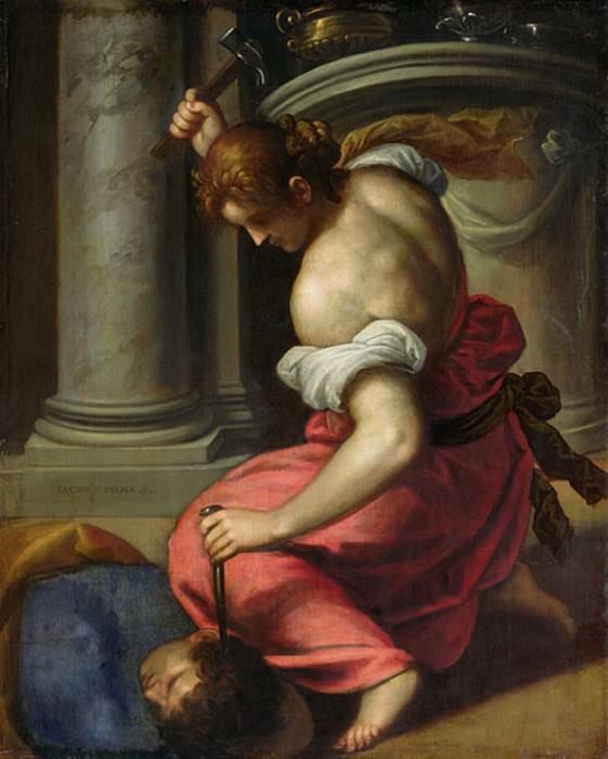 The Death of Sisera. Palma il Giovane (Jacopo Negretti)