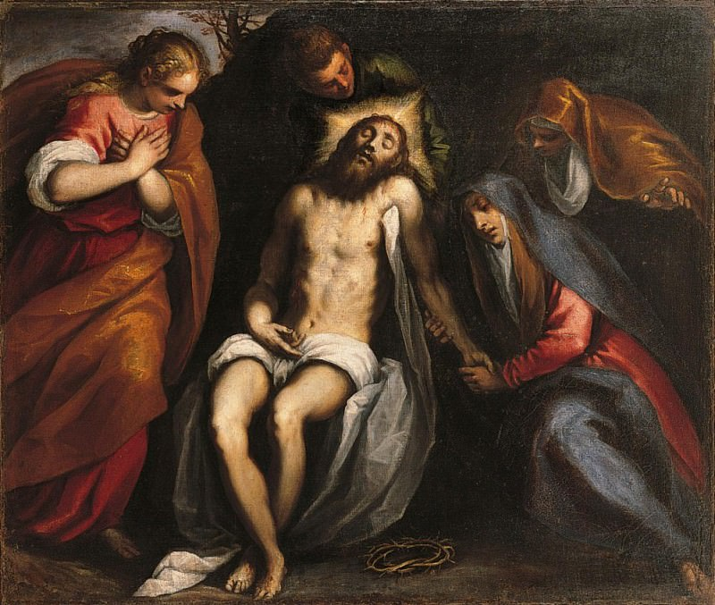 The Complaint of Christ (Compianto di Cristo). Palma il Giovane (Jacopo Negretti)