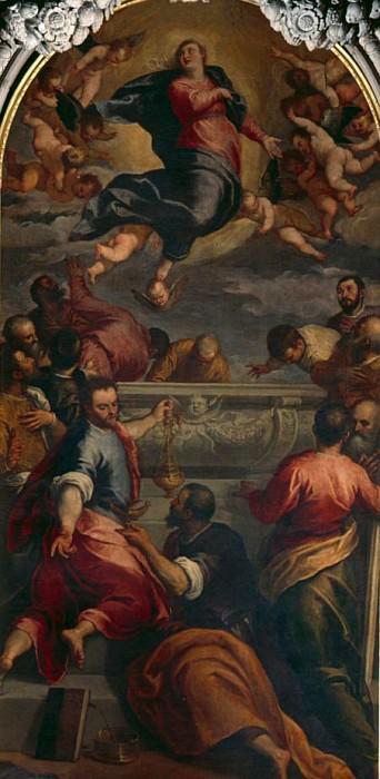 The Ascent. Palma il Giovane (Jacopo Negretti)