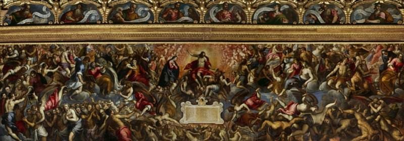 The Last Judgement. Palma il Giovane (Jacopo Negretti)