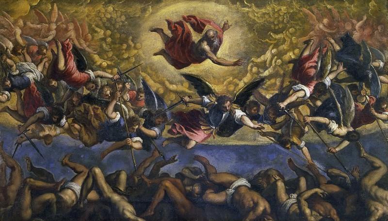 Fall rebellious angels. Palma il Giovane (Jacopo Negretti)