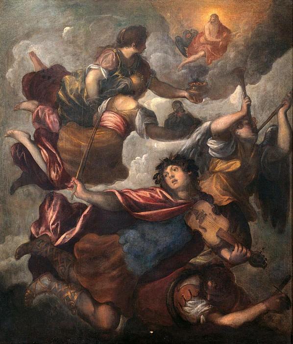 Triumph of Apollo (Trionfo di Apollo). Palma il Giovane (Jacopo Negretti)