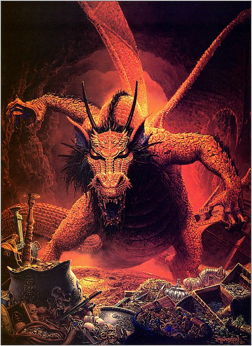 The Great Red Dragon. Keith Parkinson