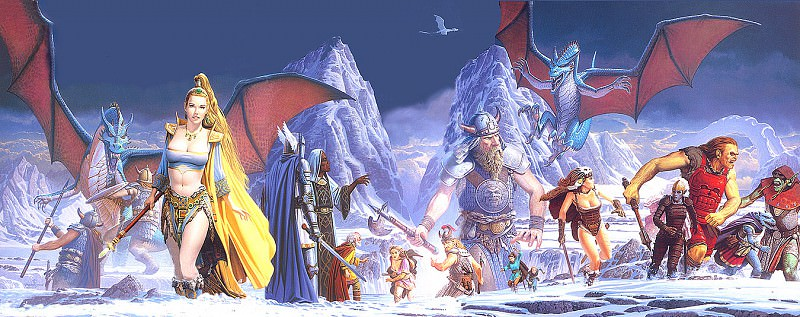 Everquest- Scars Of Velious. Keith Parkinson