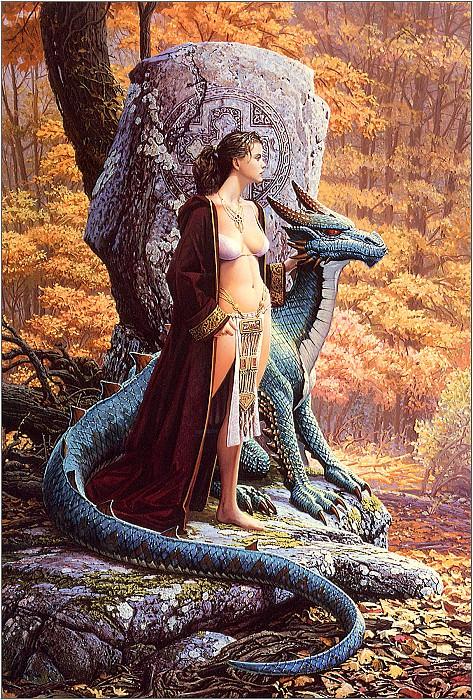 he Druids Stone. Keith Parkinson
