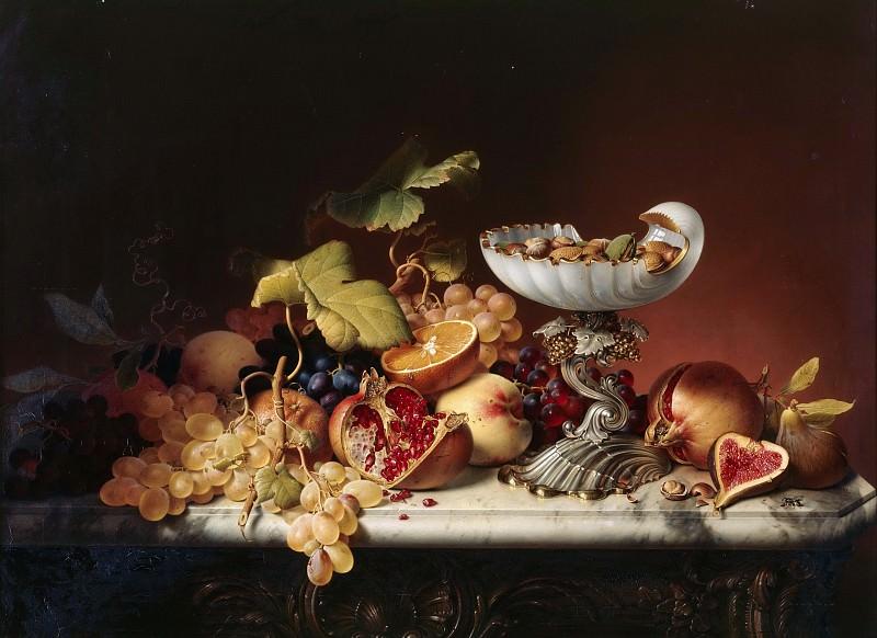 Натюрморт с фруктами. Иоганн Вильгельм Прейер