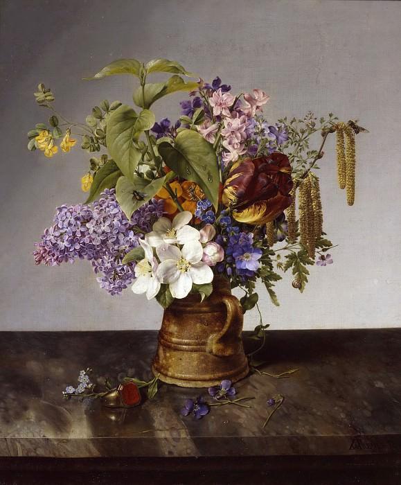 Garden Bouquet. Johann Wilhelm Preyer