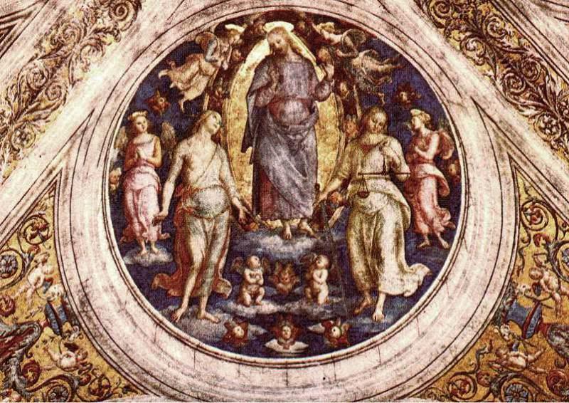 Christ in his Glory 1507 8. Pietro Perugino
