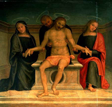 compiantosulcristomorto. Pietro Perugino