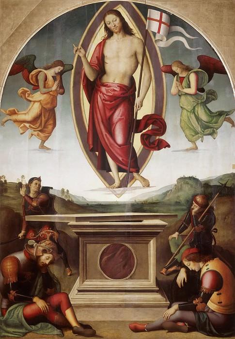 Resurrection. Pietro Perugino
