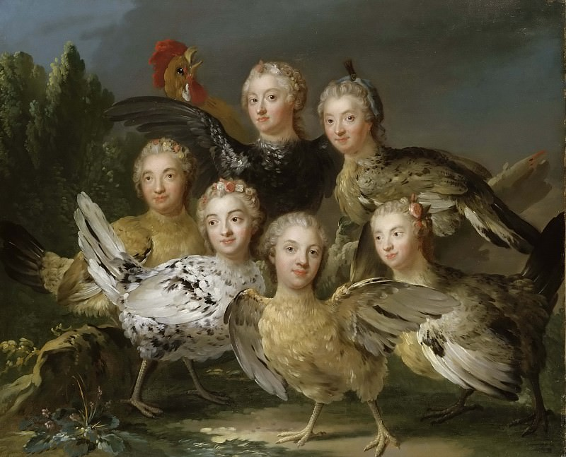 The Hen Picturé. Johan Pasch (Attributed)