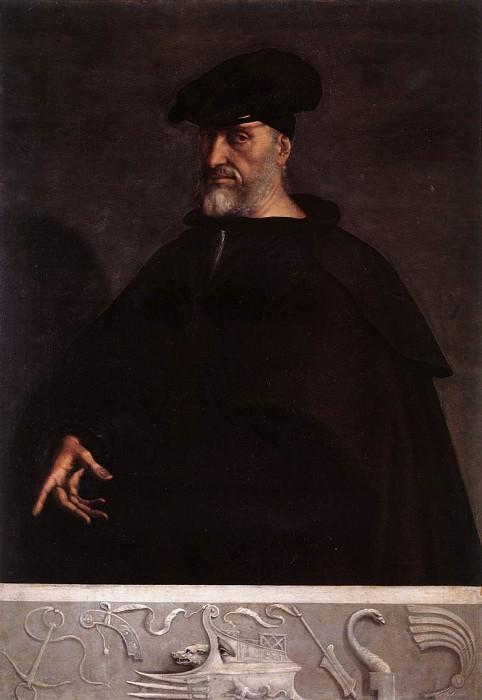 Portrait of Andrea Doria. Sebastiano del Piombo