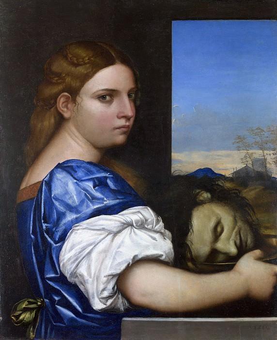Себастьяно дель Пьомбо - Дочь Иродиады. Sebastiano del Piombo (Sebastiano del Piombo - The Daughter of Herodias)