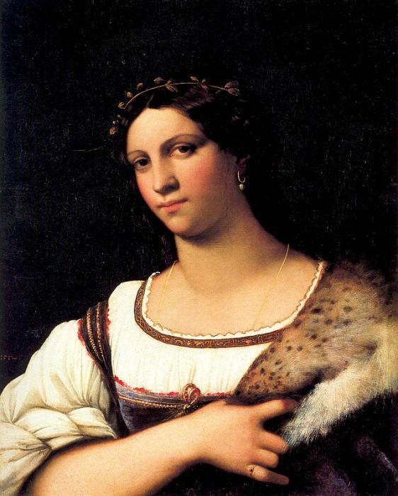 Портрет женщины. Себастьяно дель Пьомбо