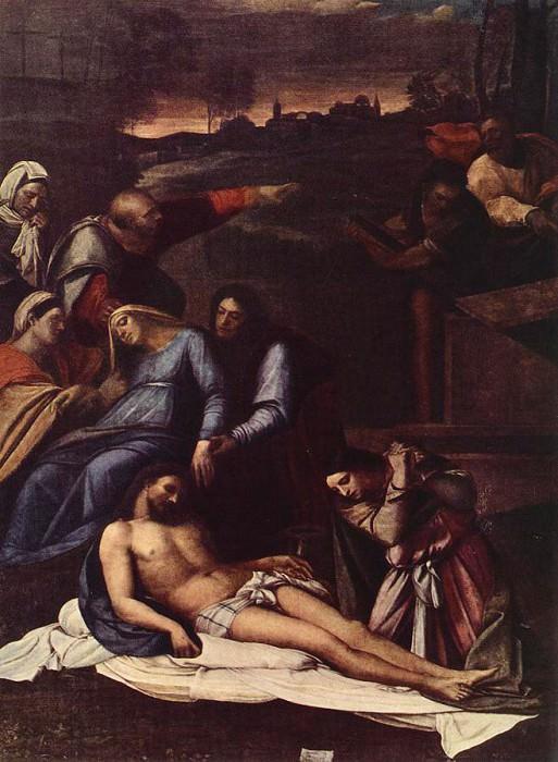 Piombo Sebastiano del Deposition. Sebastiano del Piombo