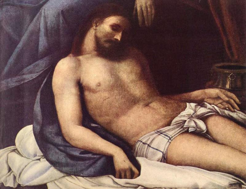 Положение во гроб, фрагмент. Себастьяно дель Пьомбо