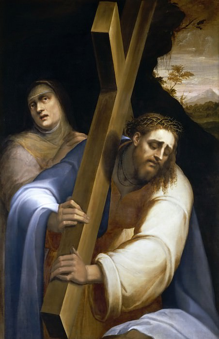 Christ Carrying the Cross. Sebastiano del Piombo