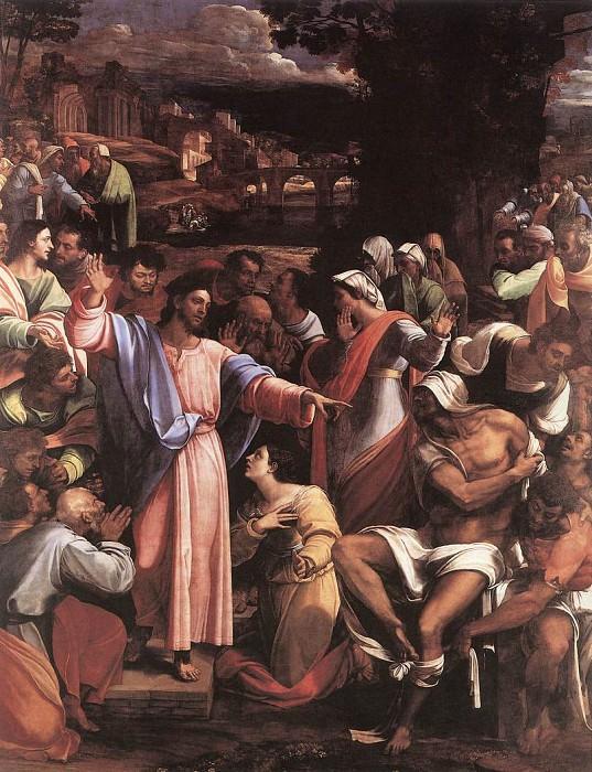 Sebastiano del The Raising of Lazarus. Sebastiano del Piombo
