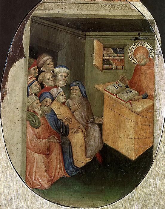 Lecture St. Augustine. Nicolo di Pietro