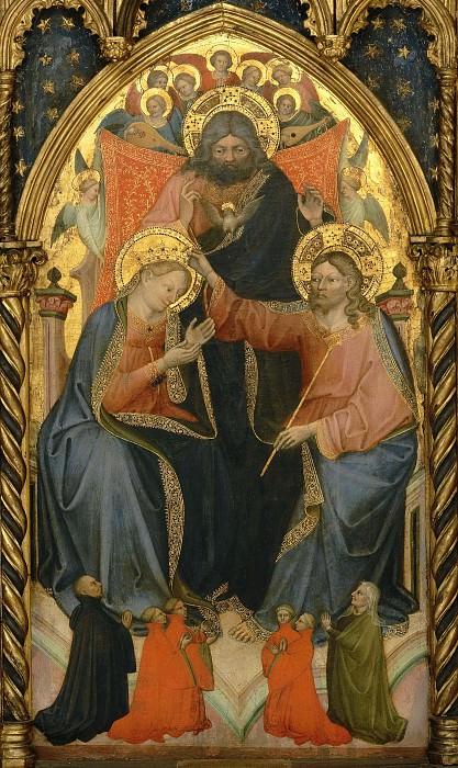 Коронование Девы Марии. Николо ди Пьетро