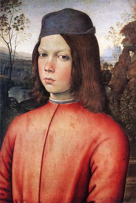 Ritratto di ragazzo 1481. Pinturicchio (Bernardino di Betto)