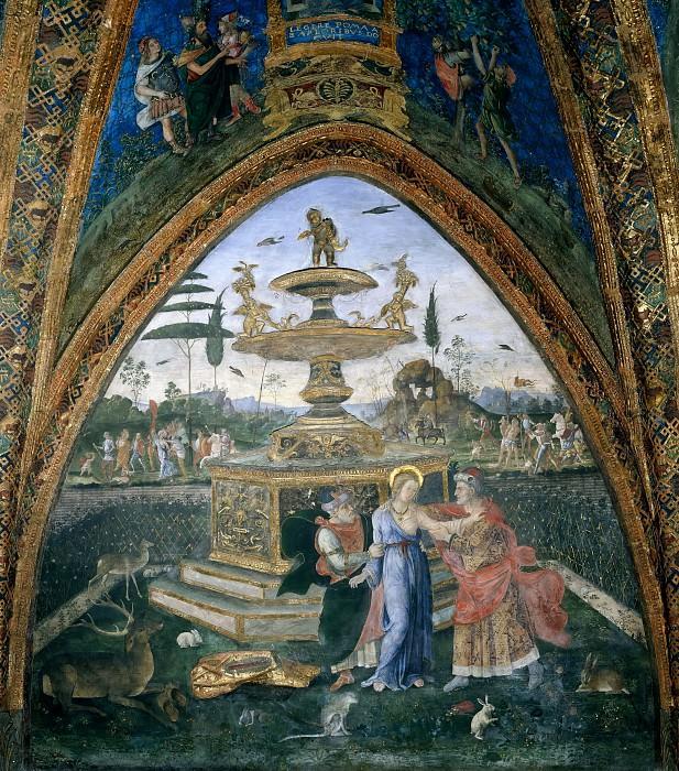 Susanna And The Elders. Pinturicchio (Bernardino di Betto)