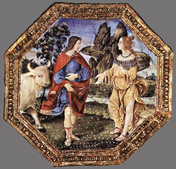Ceiling Decoration. Pinturicchio (Bernardino di Betto)