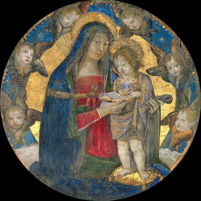 Мадонна с Младенцем в окружении херувимов. Пинтуриккьо (Бернардино ди Бетто)