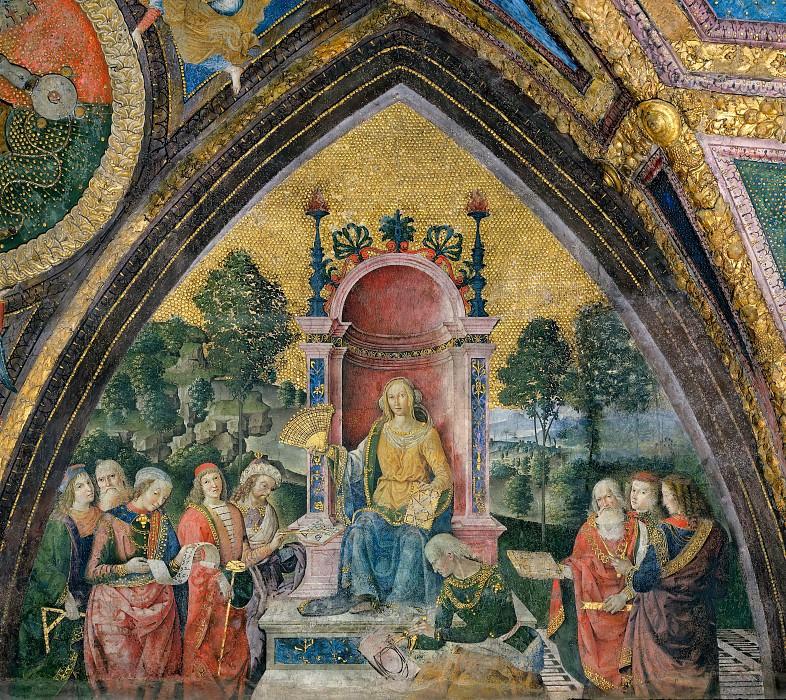 Geometry. Pinturicchio (Bernardino di Betto)