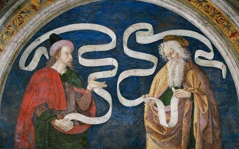 Апостол Матфей и пророк Осия. Пинтуриккьо (Бернардино ди Бетто)
