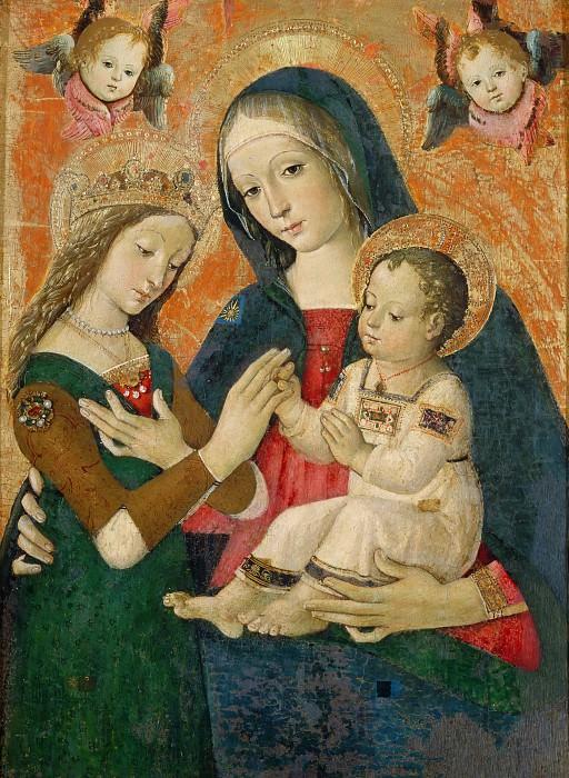 Мистическое обручение святой Екатерины. Пинтуриккьо (Бернардино ди Бетто)