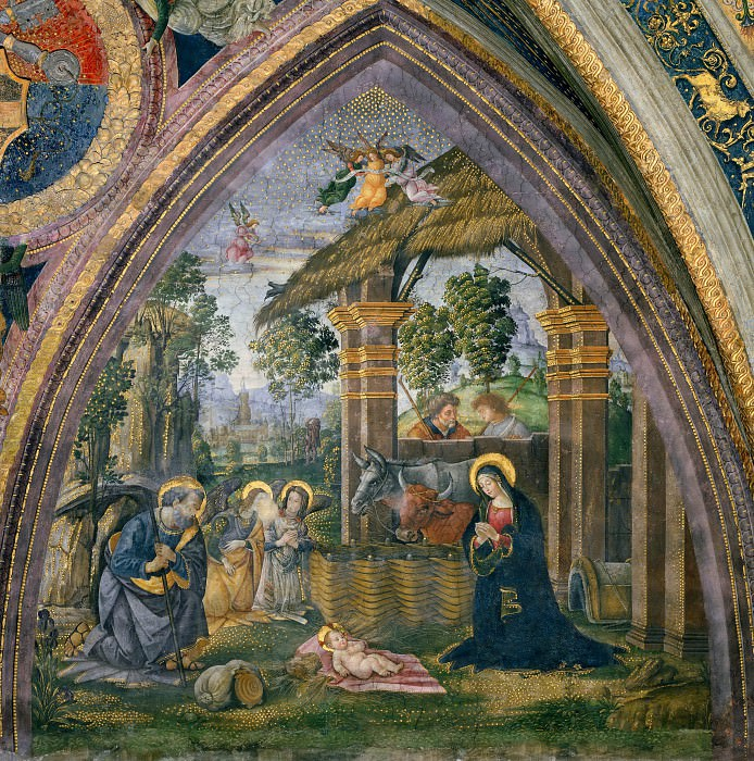 Nativity. Pinturicchio (Bernardino di Betto)