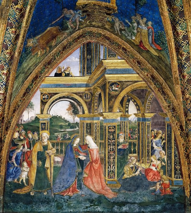 Visitation. Pinturicchio (Bernardino di Betto)