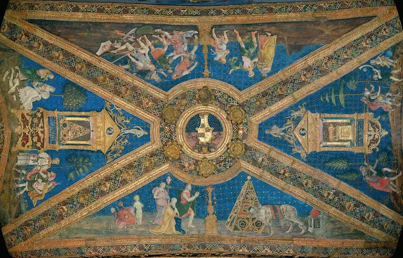 Myth of Isis and Osiris. Pinturicchio (Bernardino di Betto)