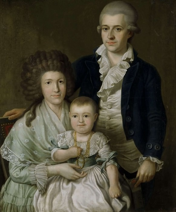 Consul F.L. Giers and his Family. Benjamin Patersen